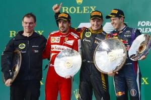 F1 2013 Australian GP Podium