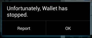 Nexus 4 Errors
