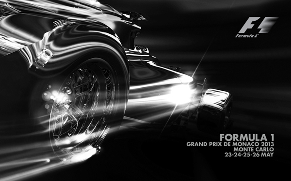 6. Monaco Poster