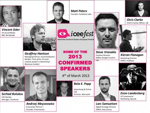 Speakers ICEEfest 2013