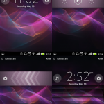 Xperia Z Lock-Unlock Screen
