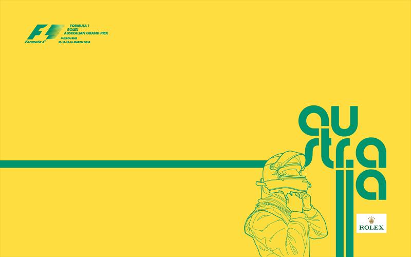 Australia 2014 Poster