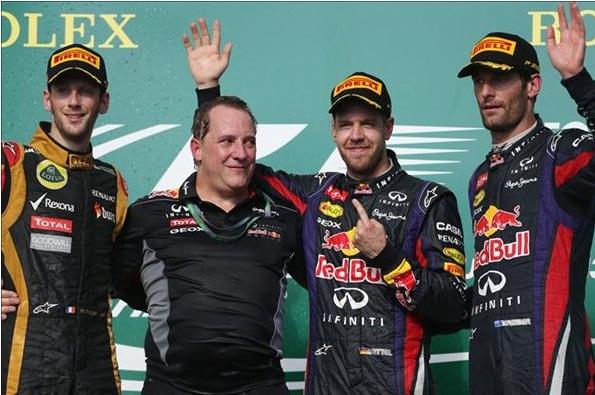 F1 2013 USA GP Podium