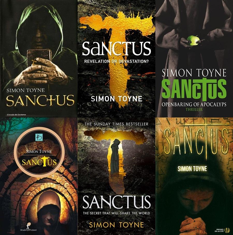 Sanctus book covers