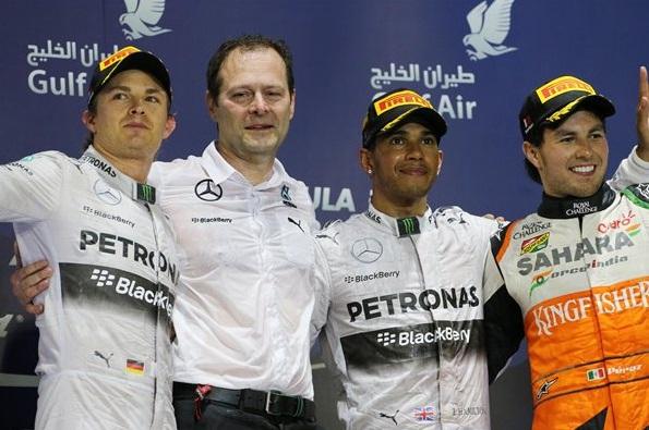 F1 2014 Bahrain GP Podium
