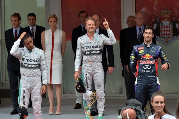 F1 2014 Monaco GP Podium