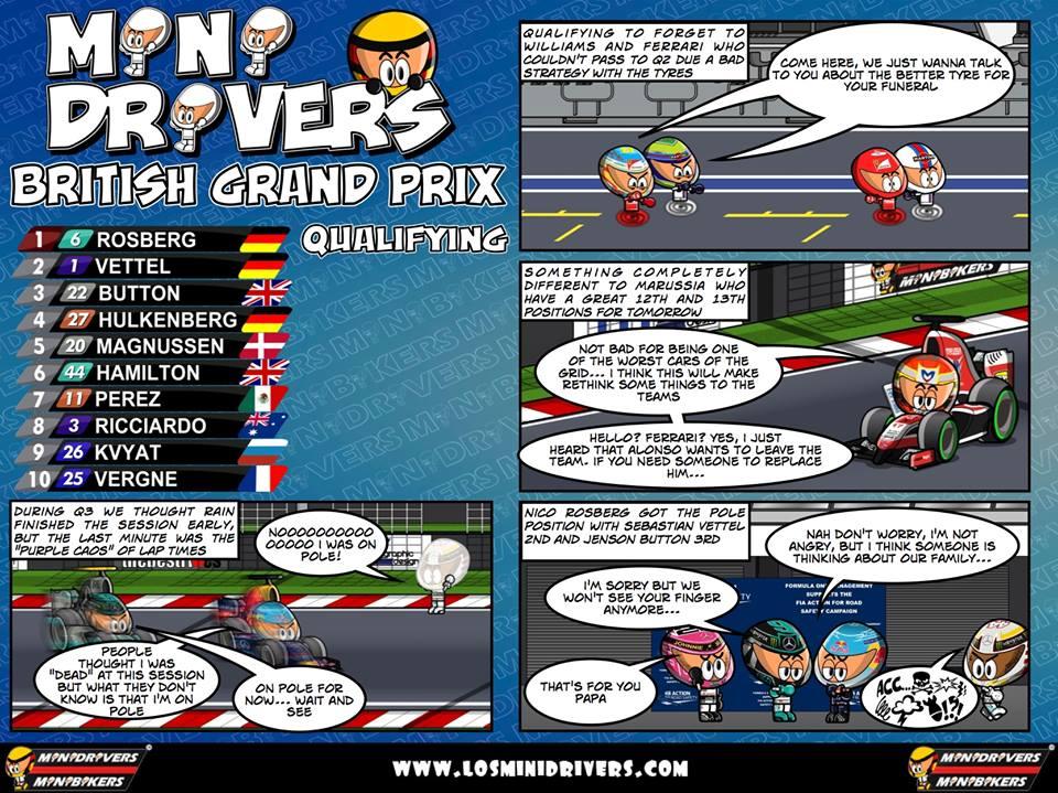 GB GP 2014 Qualifying