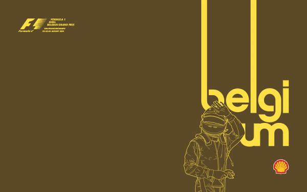 Belgium 2014 Poster