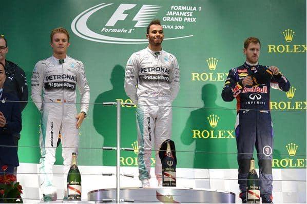 F1 2014 Japenese GP Podium