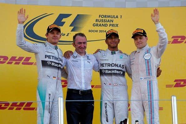 F1 2014 Russian GP Podium